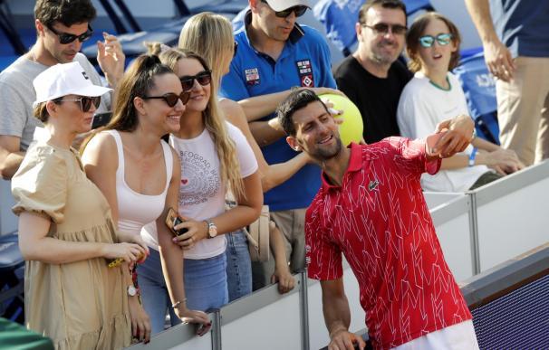 Novak Djokovic en el Adria Tour