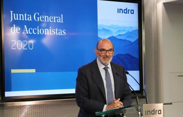 El presidente de Indra previene de recortes de gastos por la Covid-19.