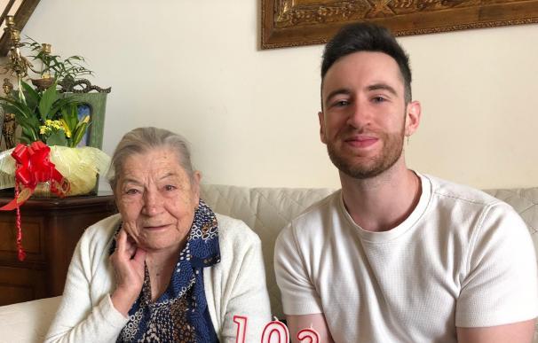 """Mercedes centenaria y sanitaria: """"Todo lo que hice en mi vida sirvió para algo"""""""