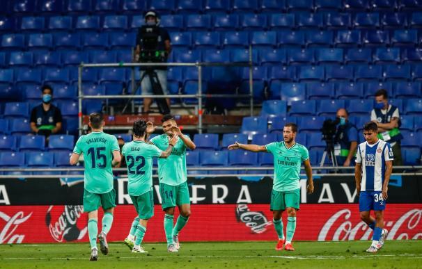 El Real Madrid sale más líder de Barcelona tras ganar al Espanyol.