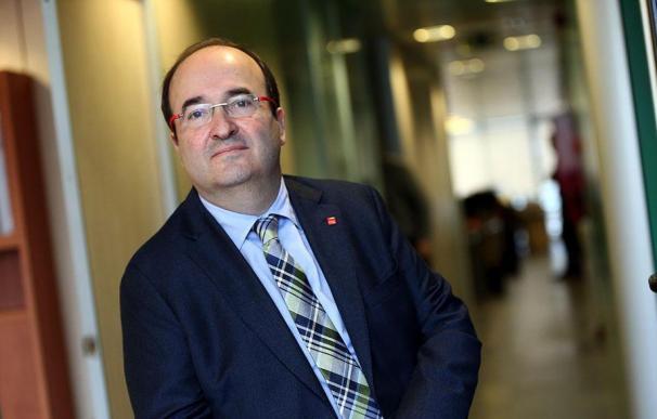 """Miquel Iceta: """"Soy partidario de crear un impuesto a las grandes fortunas"""""""