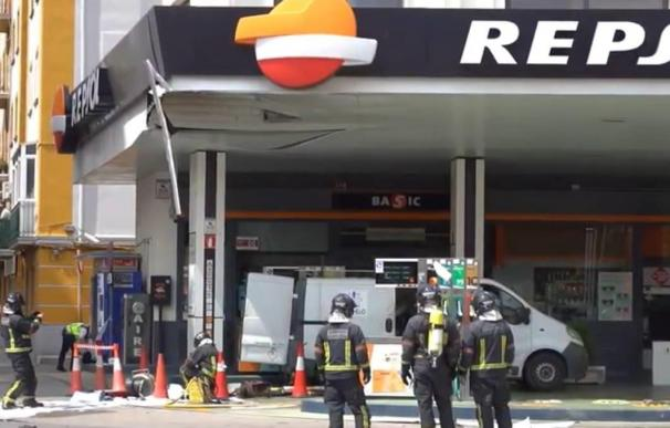 Explosión gasolinera