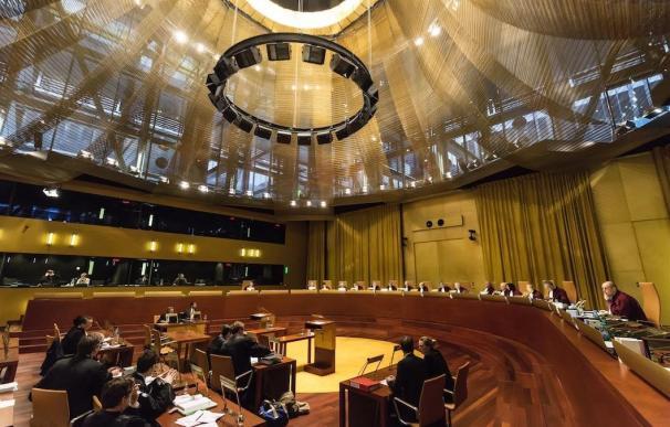 Una vista ante el Tribunal de Justicia de la Unión Europea (Gran Sala) Una vista ante el Tribunal de Justicia de la Unión Europea (Gran Sala) (Foto de ARCHIVO) 8/5/2020
