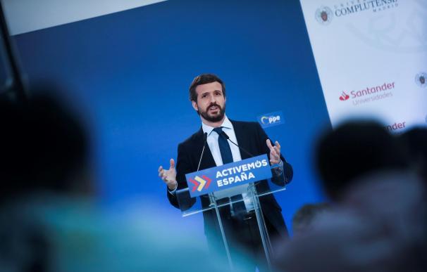 Sánchez y Casado sellan un acuerdo para la sanidad pero rompen por la economía