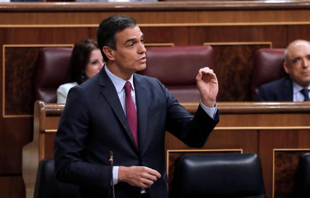 Pedro Sánchez Congreso de los Diputados