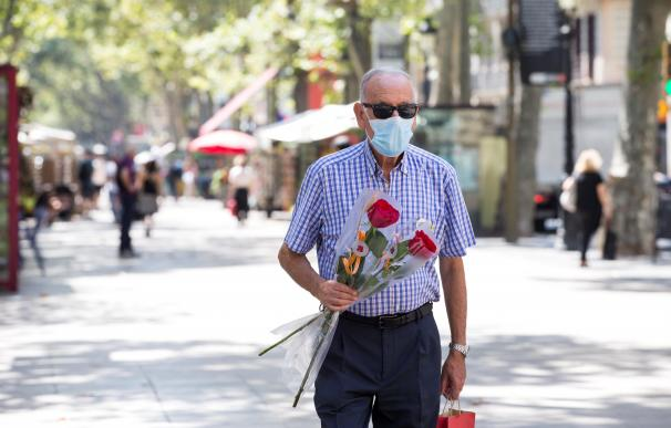 Cataluña celebra Sant Jordi coronavirus