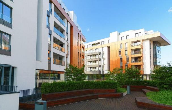 Edificio, vivienda, casa, piso, compra alquiler venta