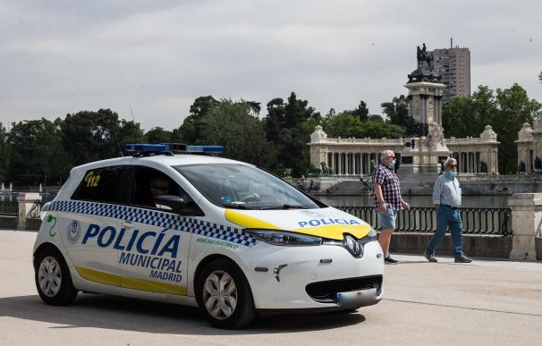 Patrulla policía local de Madrid
