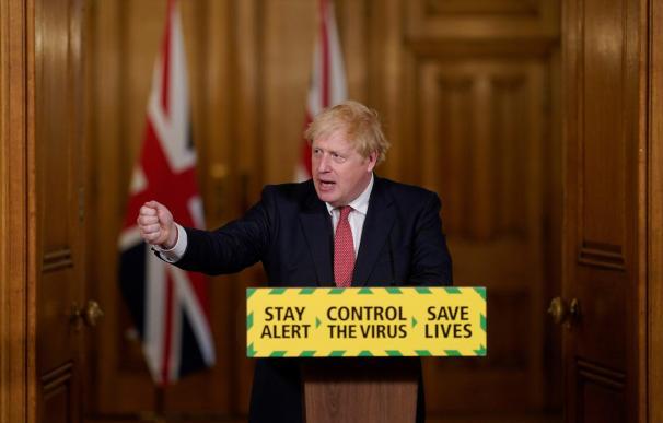Boris Johnson en imagen de archivo