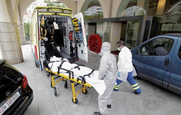 Jugador Fuenlabrada trasladado hospital coronavirus A Coruña