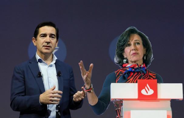 BBVA contra Santander: beneficios sin dividendo vs. pérdidas con retribución