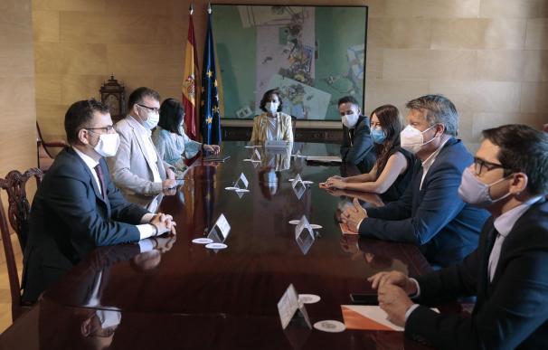 Carmen Calvo reunión con Ciudadanos, Edmundo Bal
