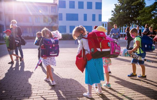 En la región alemana de Pomerania Occidental han vuelto las clases este lunes.