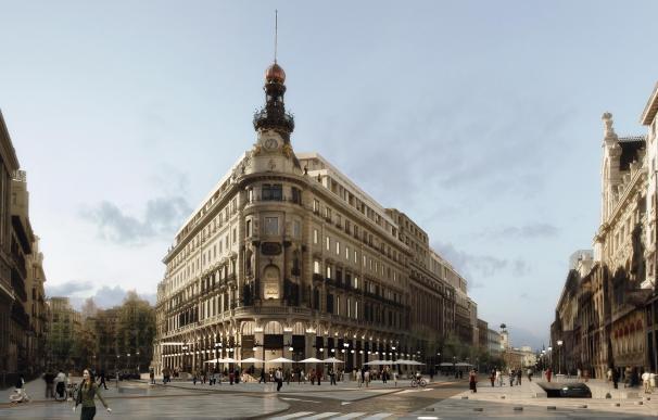 La antigua sede del Banesto se reconvertirá en el complejo de lujo Canalejas.