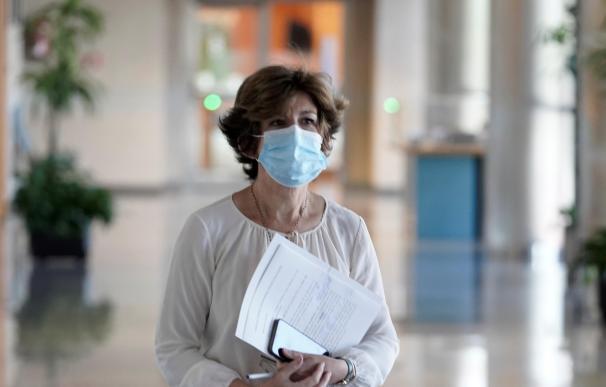 La Consejera de Sanidad, Nekane Murga