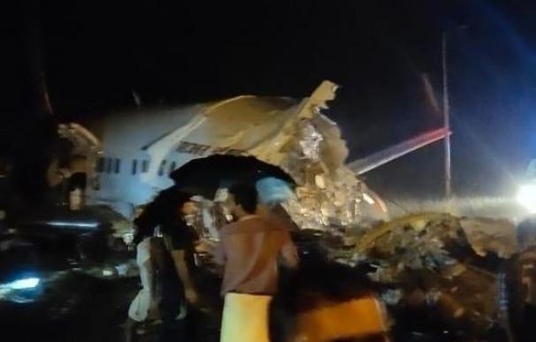 Accidente avión en Calcuta