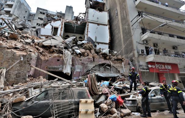 Beirut tras la explosión
