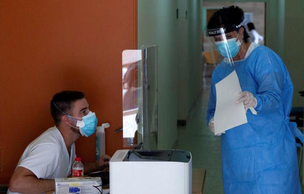 PRUEBAS PCR EN SANTA COLOMA DE GRAMANET - coronavirus Cataluña