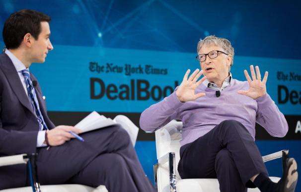 Bill Gates, durante una entrevista con el New York Times.