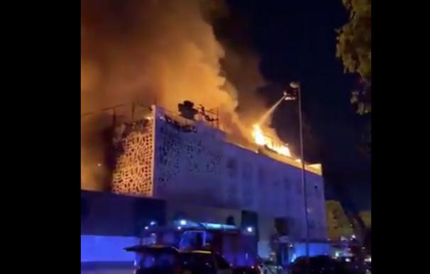 Incendio Marbella