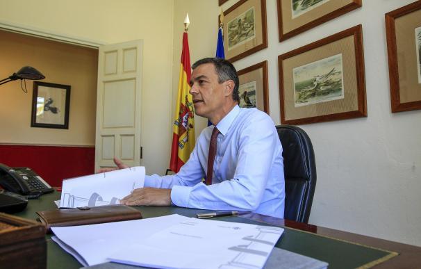 19-08-20120 Sánchez suspende vacaciones y regresa a Moncloa en pleno repunte de positivos