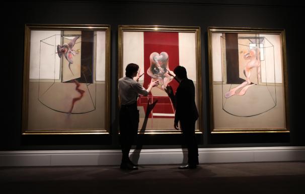 Sotheby's subastó esta obra de Francis Bacon en formato digital a finales del mes de junio.