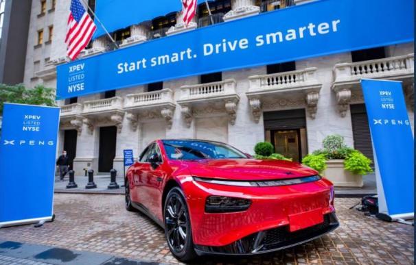La china Xpeng debuta en Wall Street