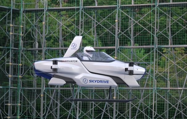 El coche volador de la empresa japonesa SkyDrive