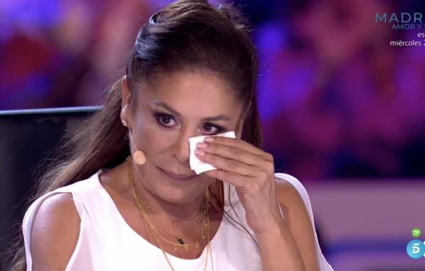 Las lágrimas de Isabel Pantoja cuando un niño canta 'Marinero de Luces' en 'Idol Kids'