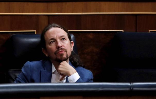 Pablo Iglesias Congreso de los Diputados