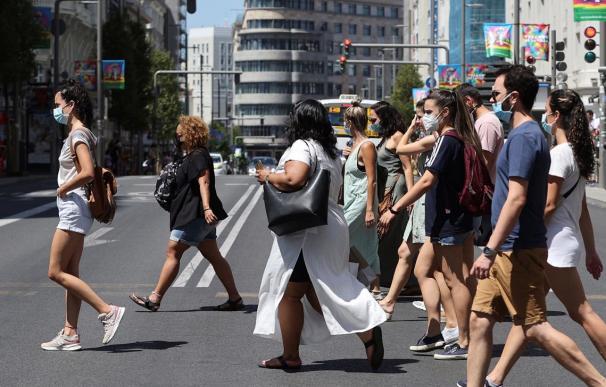 Madrid coronavirus España mascarillas