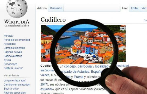 Pueblos en Wikipedia.