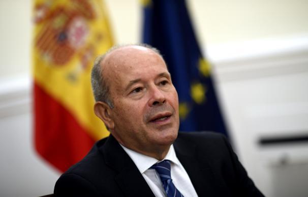 El ministro de Justicia, Juan Carlos Campo, en su despacho en el Ministerio.