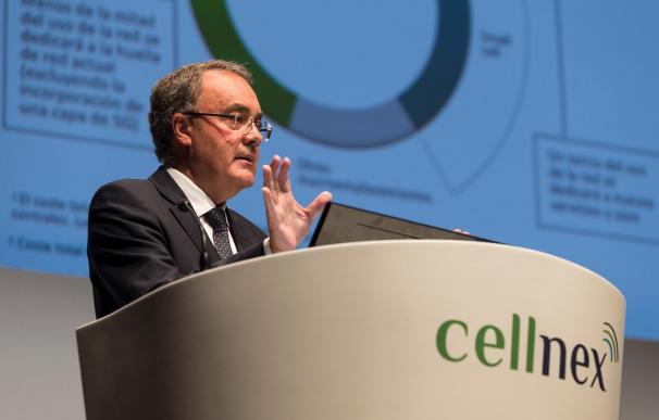 Tobías Martínez es el consejero delegado de Cellnex Telecom.