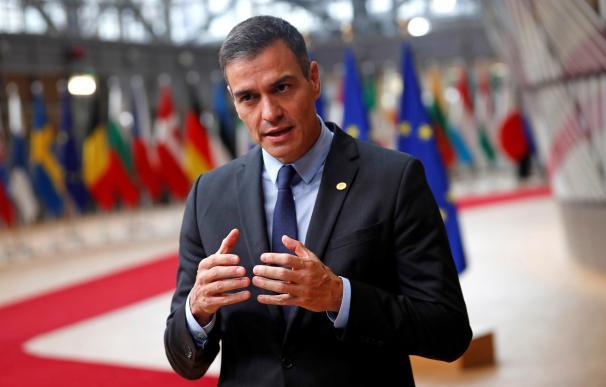Pedro Sánchez en la UE