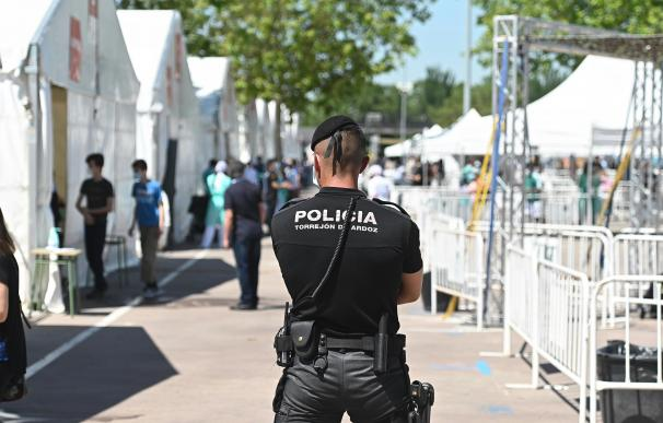 Policía Madrid control coronavirus
