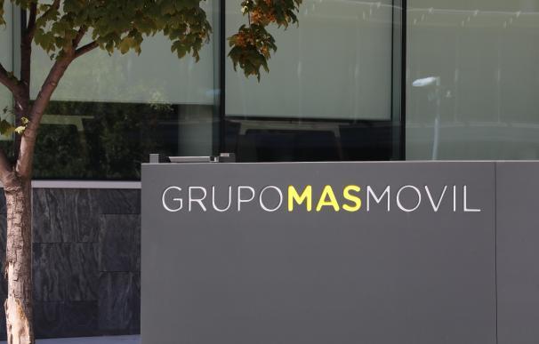 Fachada de la sede de la empresa Grupo MásMóvil