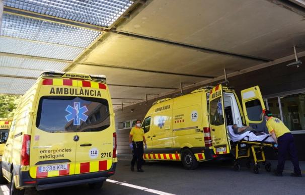 Cataluña ambulancias hospital coronavirus