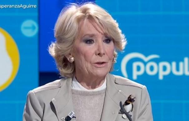 Esperanza Aguirre en TVE