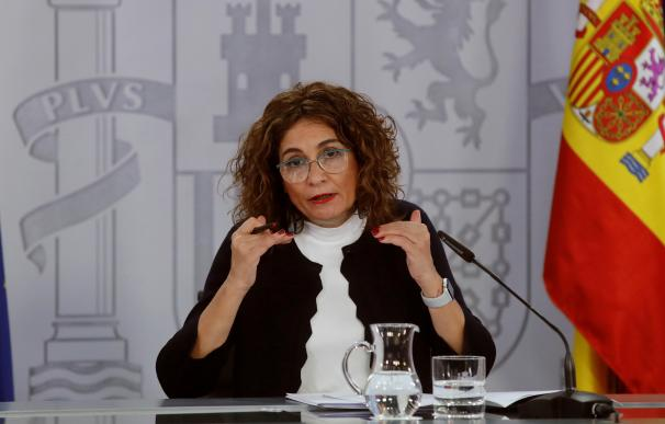 María Jesús Montero, portavoz del Gobierno y ministra de Hacienda