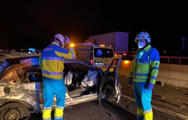 Accidente en la A5.