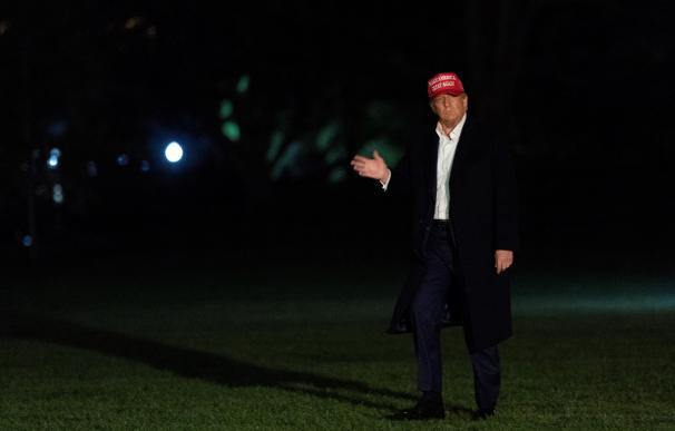 Donald Trump con gorra, presidente Estados Unidos, EEUU