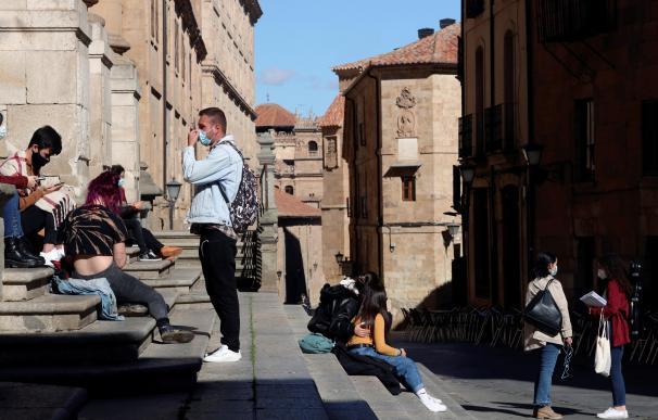 Los universitarios de Salamanca piden mantener las clases pese a los rebrotes