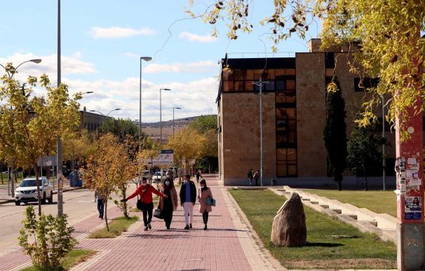 Vista este martes de la zona universitaria de Salamanca