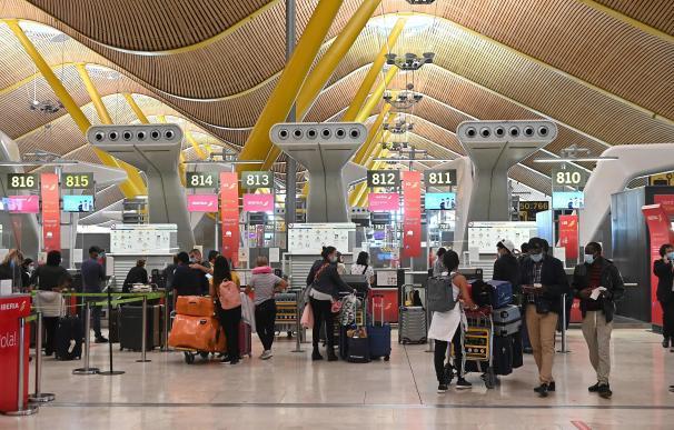 Aeropuerto de Barajas, Madrid, coronavirus