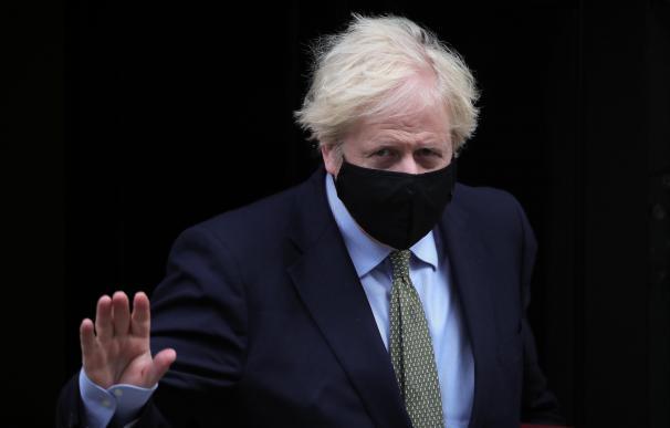 Boris Johnson, Reino Unido