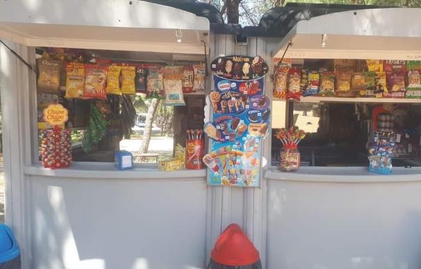 Kiosco de la Casa de Campo en Madrid