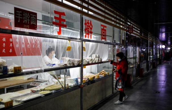 China mercado coronavirus Pekín