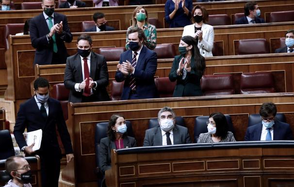 Garriga Vox Congreso de los Diputados Abascal, bancada Vox