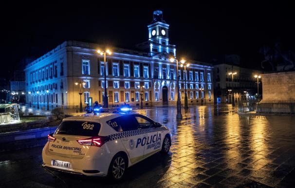 Coronavirus Puerta del Sol Madrid cierre policía municipal control